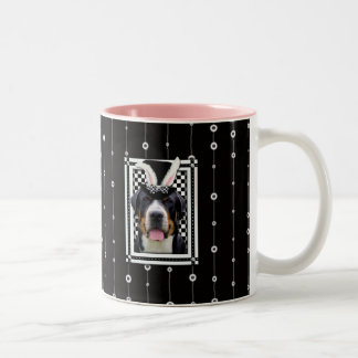 Easter - Some Bunny Loves You - Swissie Two-Tone Coffee Mug