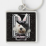 Easter - Some Bunny Loves You - Tibetan Terrier Keychain