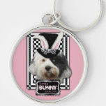 Easter - Some Bunny Loves You - Tibetan Terrier Key Chains