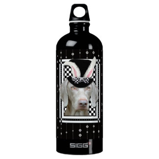 Easter - Some Bunny Loves You - Weimaraner Aluminum Water Bottle