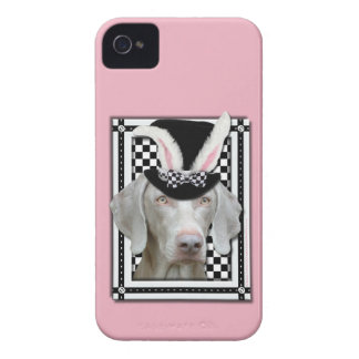 Easter - Some Bunny Loves You - Weimaraner iPhone 4 Covers