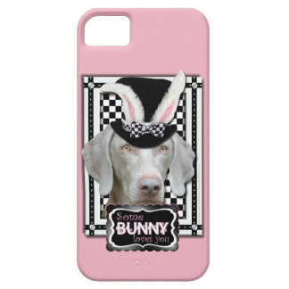 Easter - Some Bunny Loves You - Weimaraner iPhone SE/5/5s Case