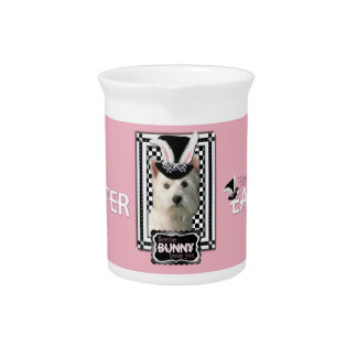 Easter - Some Bunny Loves You - Westie Beverage Pitchers