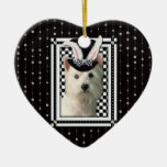 Easter - Some Bunny Loves You - Westie Christmas Tree Ornament