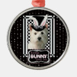 Easter - Some Bunny Loves You - Westie Christmas Tree Ornaments