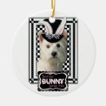 Easter - Some Bunny Loves You - Westie Christmas Ornaments
