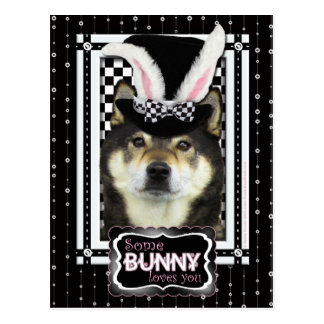 Easter - Some Bunny Loves You -  Yasha Postcard
