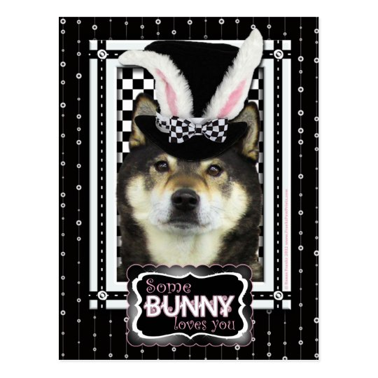 Easter - Some Bunny Loves You -  Yasha Postcard