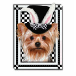 Easter - Some Bunny Loves You - Yorkie Cut Outs