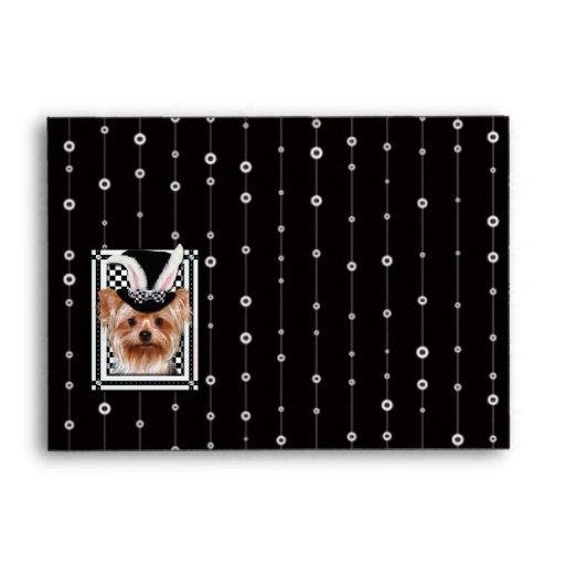 Easter - Some Bunny Loves You - Yorkie Envelope
