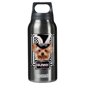 Easter - Some Bunny Loves You - Yorkie Insulated Water Bottle