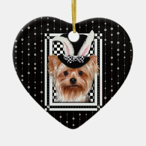 Easter - Some Bunny Loves You - Yorkie Ornaments