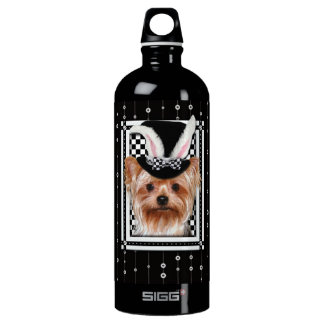 Easter - Some Bunny Loves You - Yorkie Water Bottle