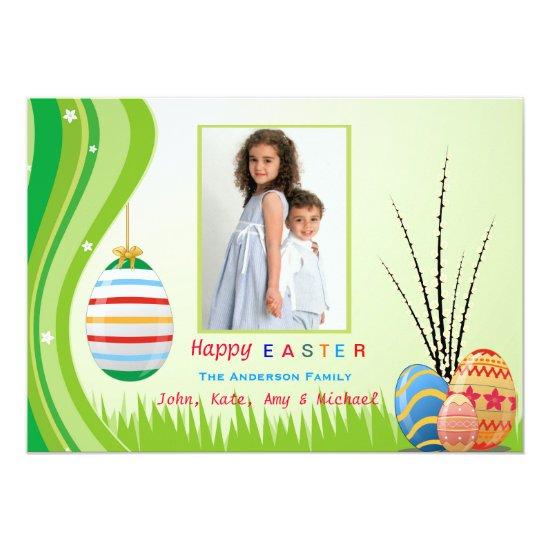 Easter Spirit Photo Card