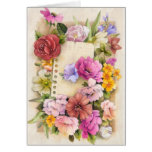 Easter, spring greeting card