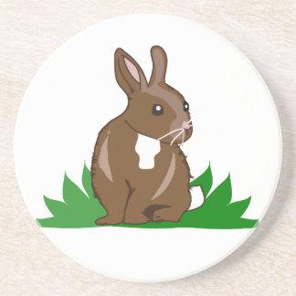 Easter/Spring Rabbit Coaster