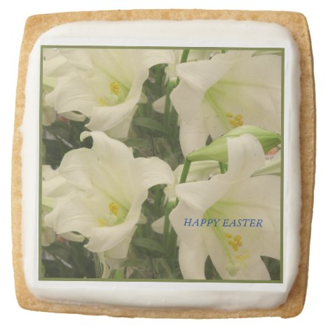 Easter Square Shortbread Cookie