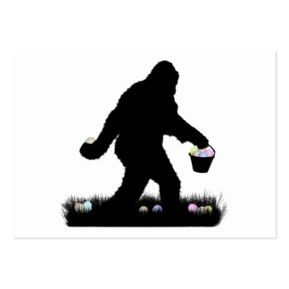 Easter Squatch Large Business Cards (Pack Of 100)