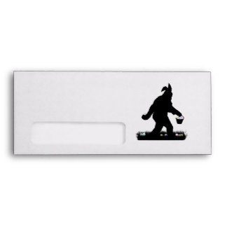 Easter Squatch with Bunny Ears Envelope