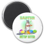 Easter Squirrel Refrigerator Magnet