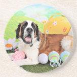 Easter - St Bernard - Ozzie Coaster