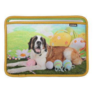Easter - St Bernard - Ozzie MacBook Sleeves