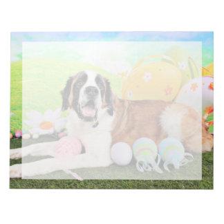 Easter - St Bernard - Ozzie Memo Note Pad