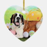 Easter - St Bernard - Ozzie Ornaments