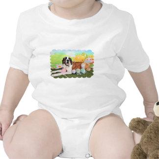 Easter - St Bernard - Ozzie Baby Creeper