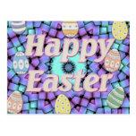 Easter Star Basket Post Cards