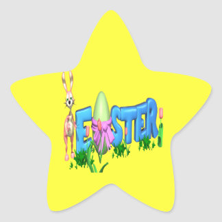 Easter Star Stickers