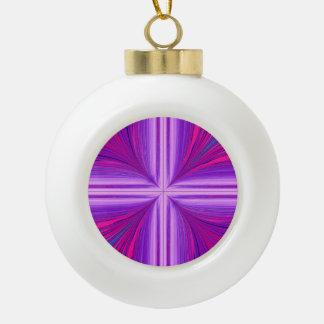 Easter Sunday Sunrise Resurrection Fractal Ceramic Ball Christmas Ornament