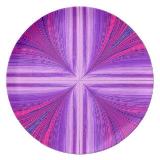 Easter Sunday Sunrise Resurrection Fractal Plate