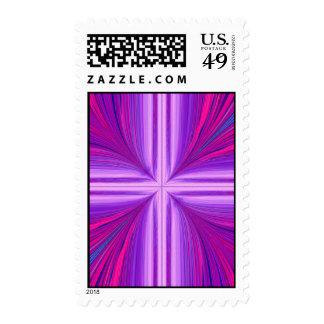 Easter Sunday Sunrise Resurrection Fractal Postage Stamp