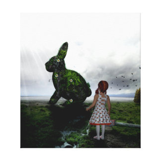 Easter Surpise Stretched Canvas Prints