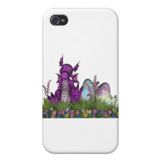 Easter Surprise Baby Dragon Cover For iPhone 4