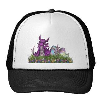 Easter Surprise Baby Dragon Trucker Hat