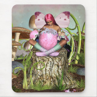 Easter Surprise - Spring Easter Mousepad -  Fairy