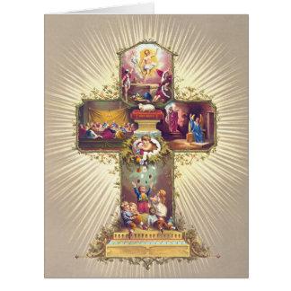 Easter Symbols 1877 Card