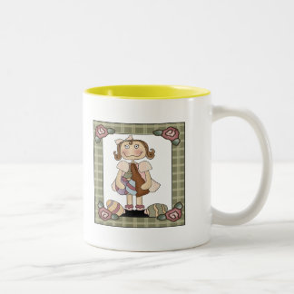 Easter T shirts and Gifts Two-Tone Coffee Mug