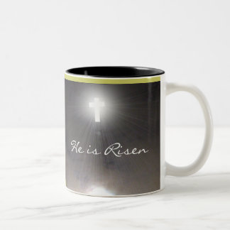 Easter T-shirts ans Gifts Two-Tone Coffee Mug