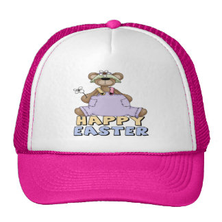 Easter Teddy Bear T shirts and Gifts Trucker Hats
