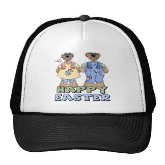 Easter Teddy Bear T shirts and Gifts Mesh Hat