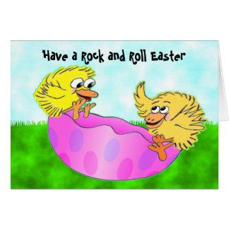 Easter teeter totter card