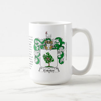 Easter, the Origin, the Meaning and the Crest Coffee Mug