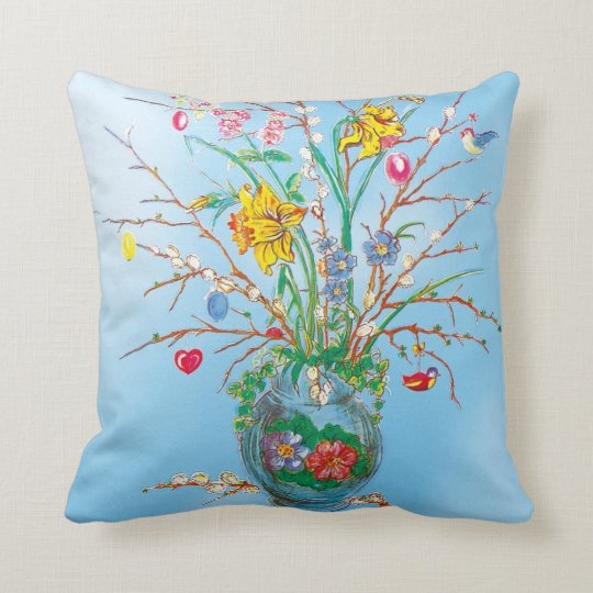 Easter - throw pillow