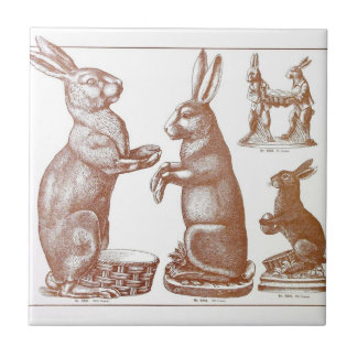 Easter Tile Antique Chocolate Mold Bunny Catalogue