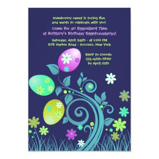 Easter Time Birthday Invitation