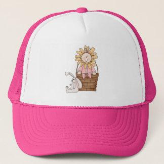 Easter Time Flower Trucker Hat
