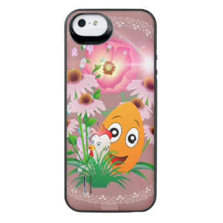 Easter time, funny easter egg uncommon power gallery™ iPhone 5 battery case